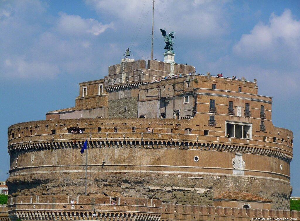 Рим. Замок Св. Ангела.