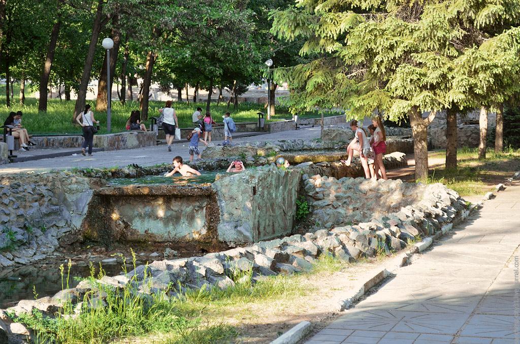 """фонтан """"Каскад"""", Белгород, фото Sanchess"""