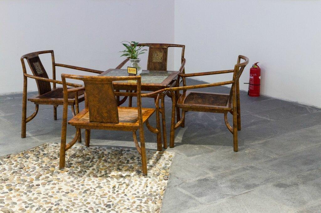 Стулья и стол, китайская мебель