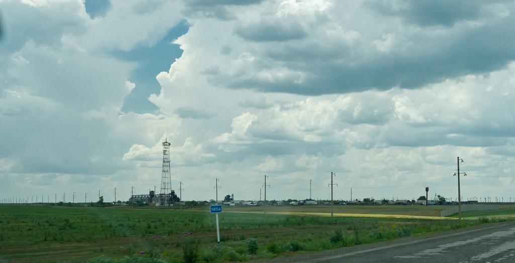 Поселения в степи. Отчет о поездке в Казахстан на авто.