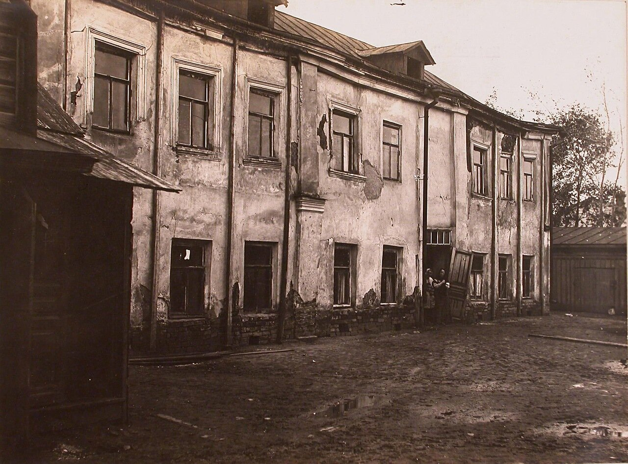 Вид фасада дома Широкова