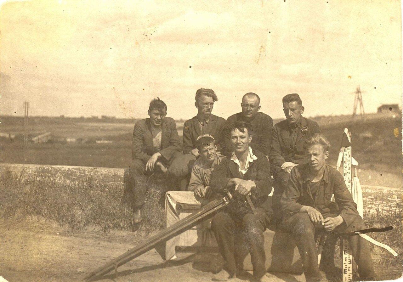 1937-1939. Геодезисты
