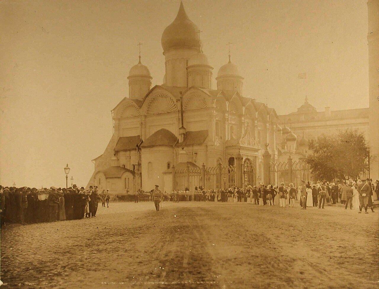 32. Общий вид Успенского собора. Москва