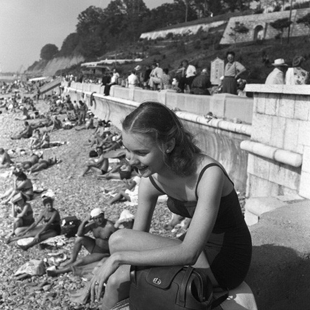 Сочи. На пляже