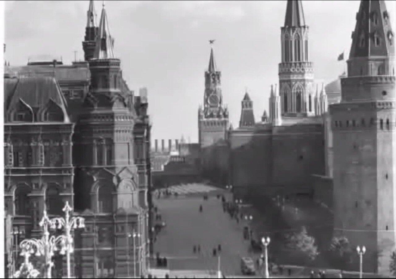 Москва. Вид на Красную площадь