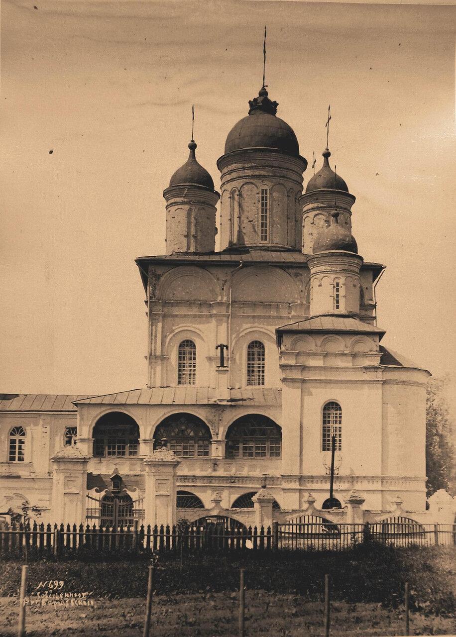 Вид южного фасада церкви Преображения