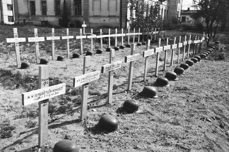 Венгерское военное кладбище, союзники Гитлера