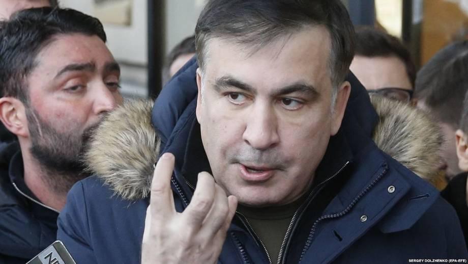 Саакашвили покинул территорию Украины не на «самолете Порошенко» – АП