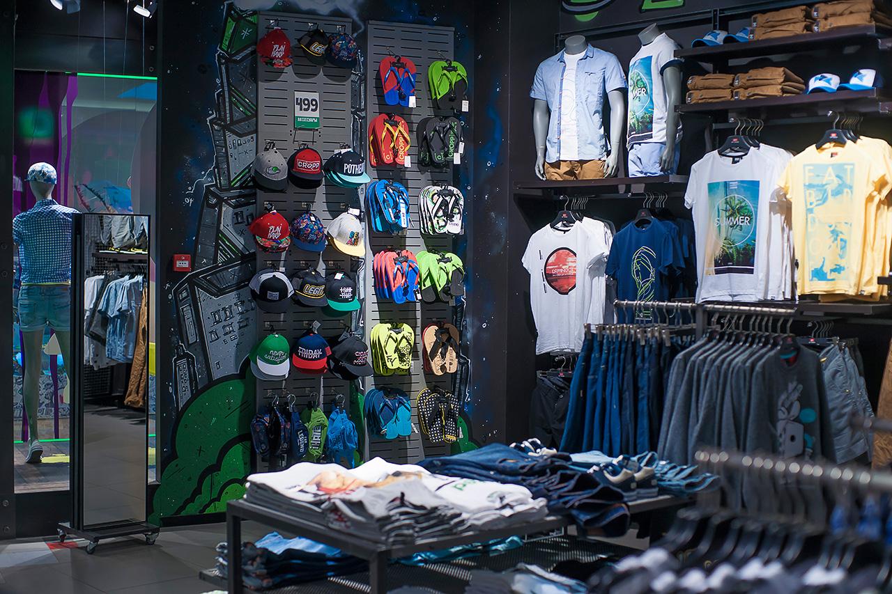 фотографирование магазинов. Интерьеры