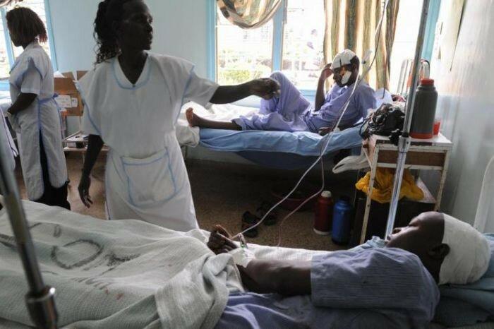 Ошибочка вышла! Кенийские хирурги вскрыли череп не тому пациенту ).