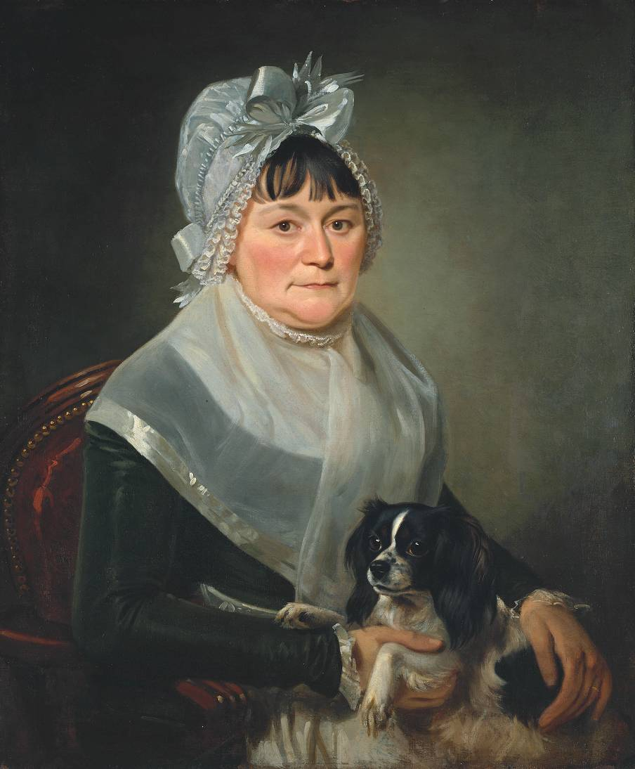 Ann Constable circa 1800-5 or ?circa 1815 by John Constable 1776-1837