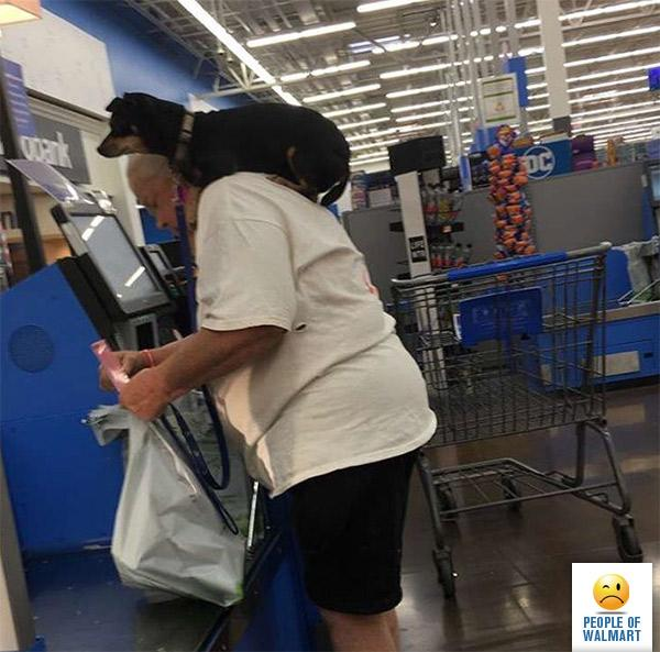 Сеть Walmart и ее необычные покупатели