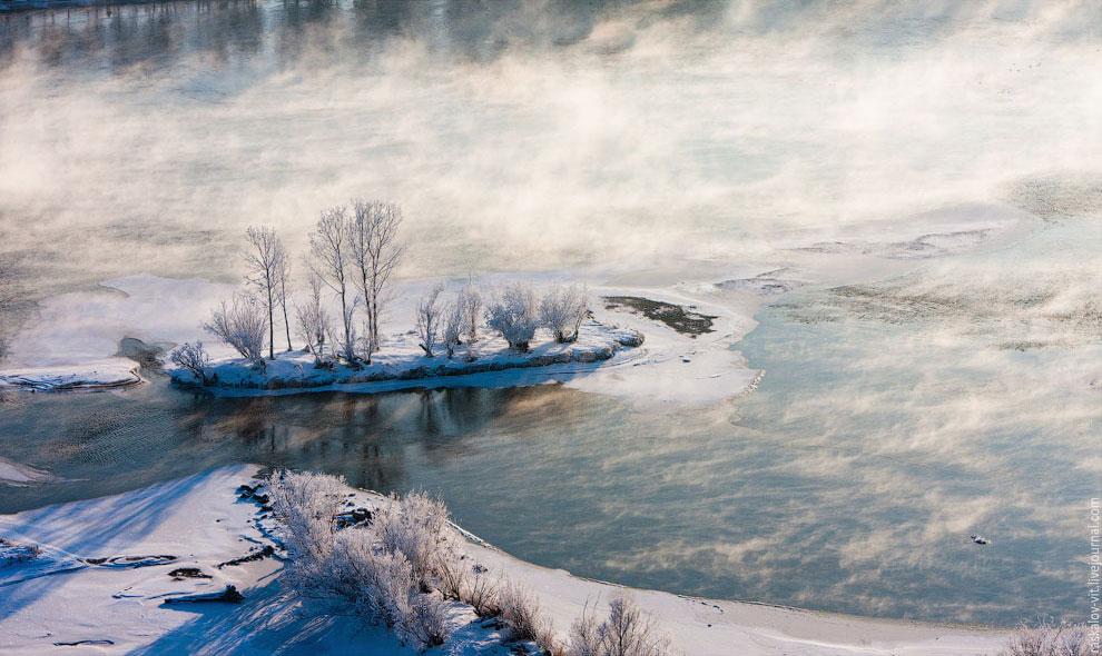 В реальности она составила около 200 км (дальше Красноярска), что оказало сильное влияние на экологи