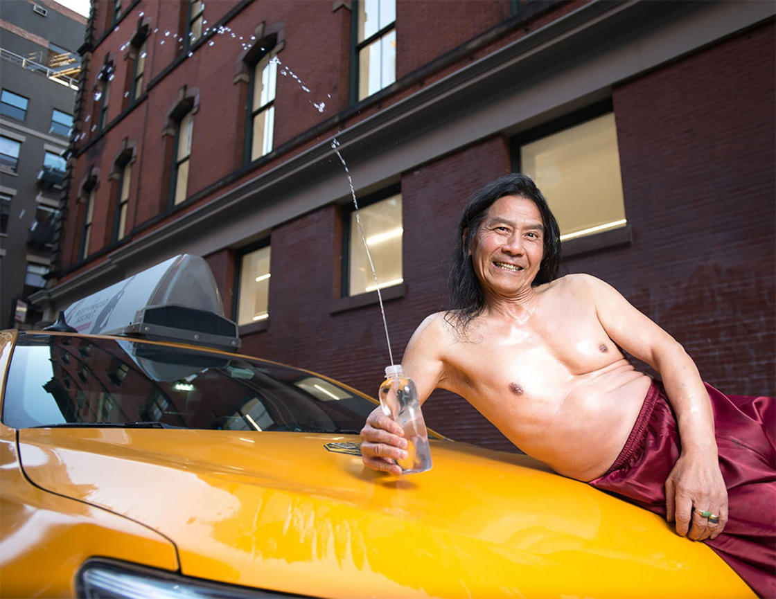 The New York taxi drivers are back with their 2018 sexy calendar
