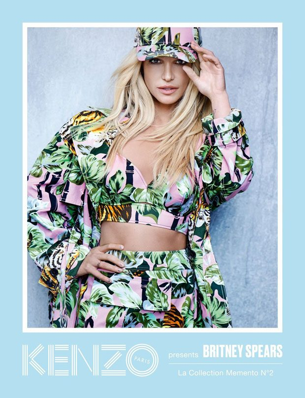Britney Spears Is The New Face Of KENZO (3 pics)
