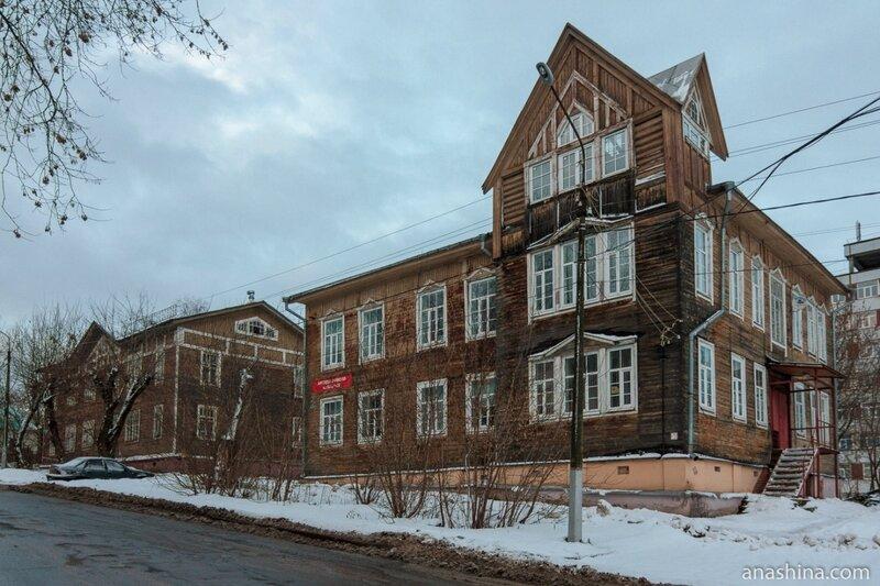 Деревянные дома начала XX века