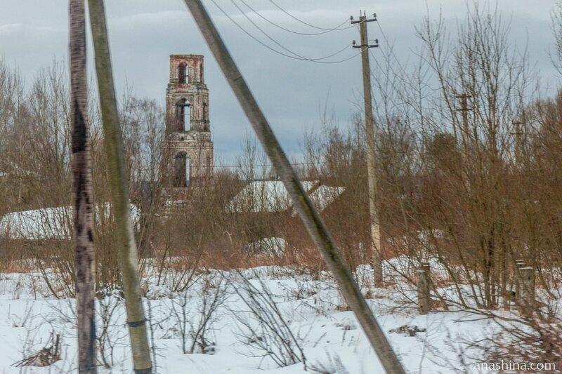 Церковь Воздвижения Креста Господня в Князево