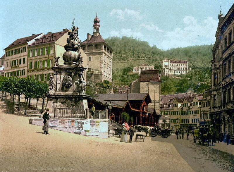 Моровой столб в конце XIX века