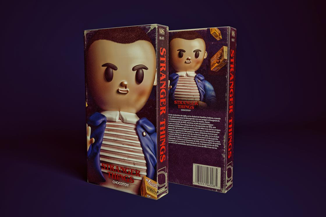 Stranger Toys – Les personnages de Stranger Things en adorables figurines