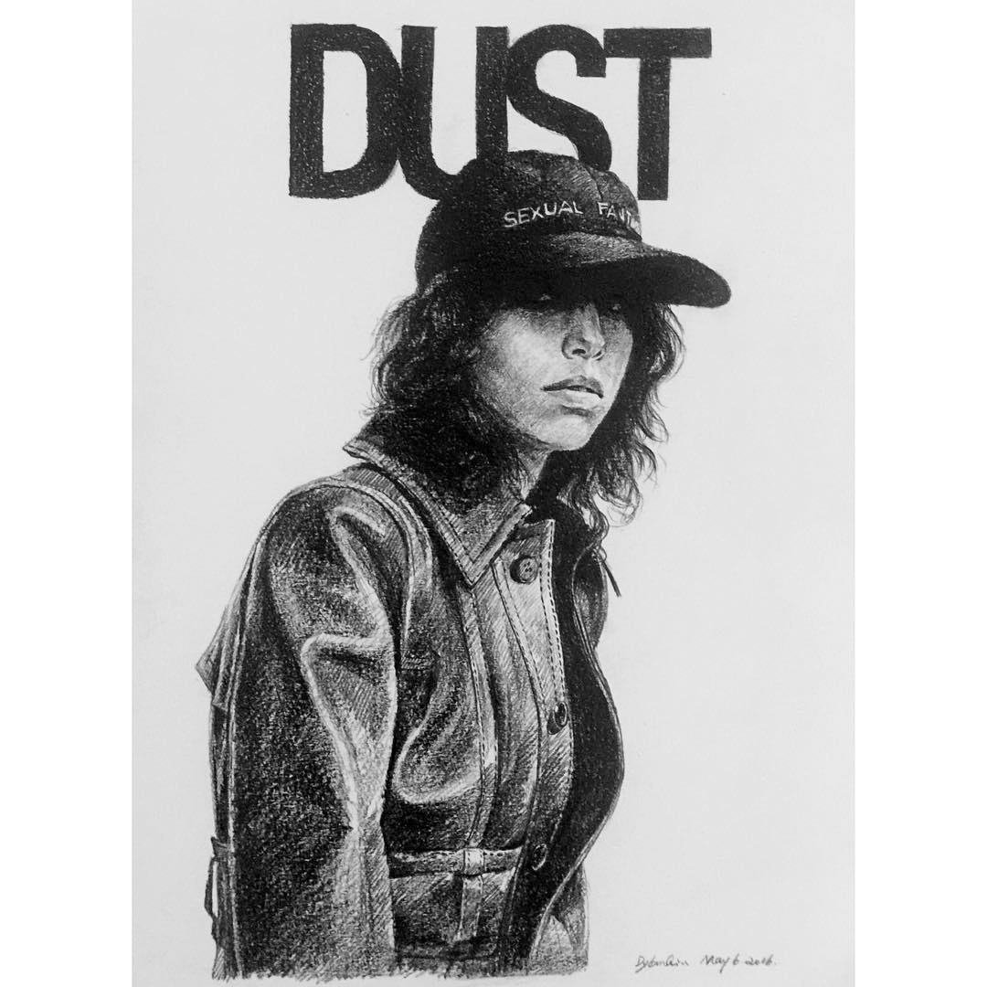 Dylan Qin e sua sensibilidade retratadas em ilustracoes de moda contemporanea