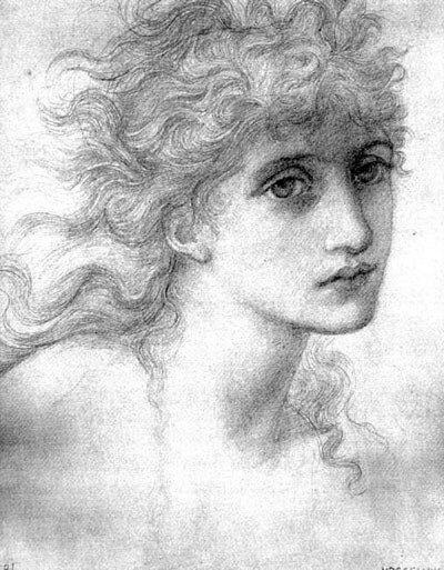 Edward Burne-Jones.Maria Zambaco