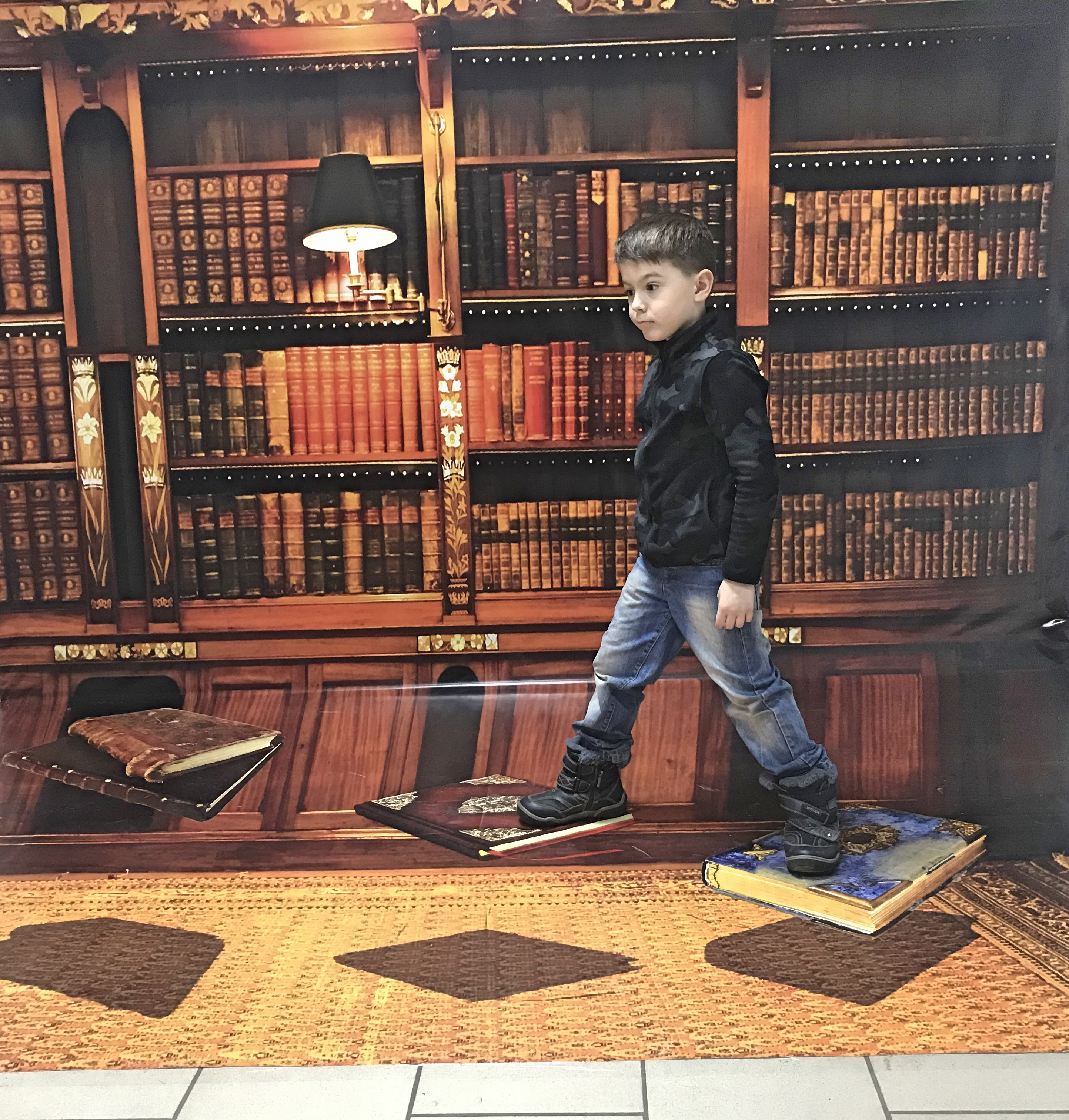 Выставка 3D картин Иллюзион в Галерее