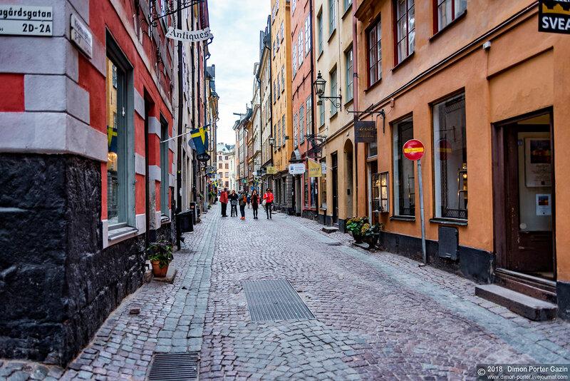 Стокгольм. Гамла Стан
