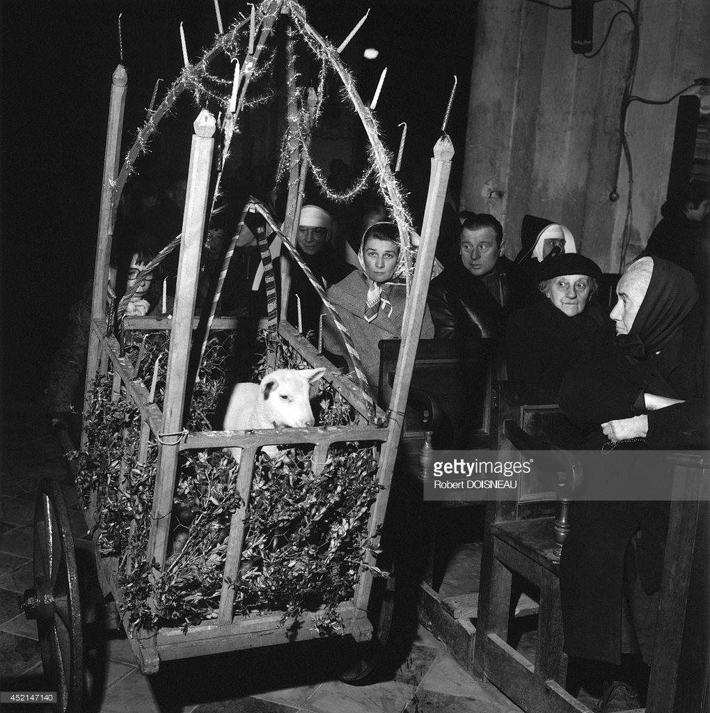 1957. Полуночная месса в Со
