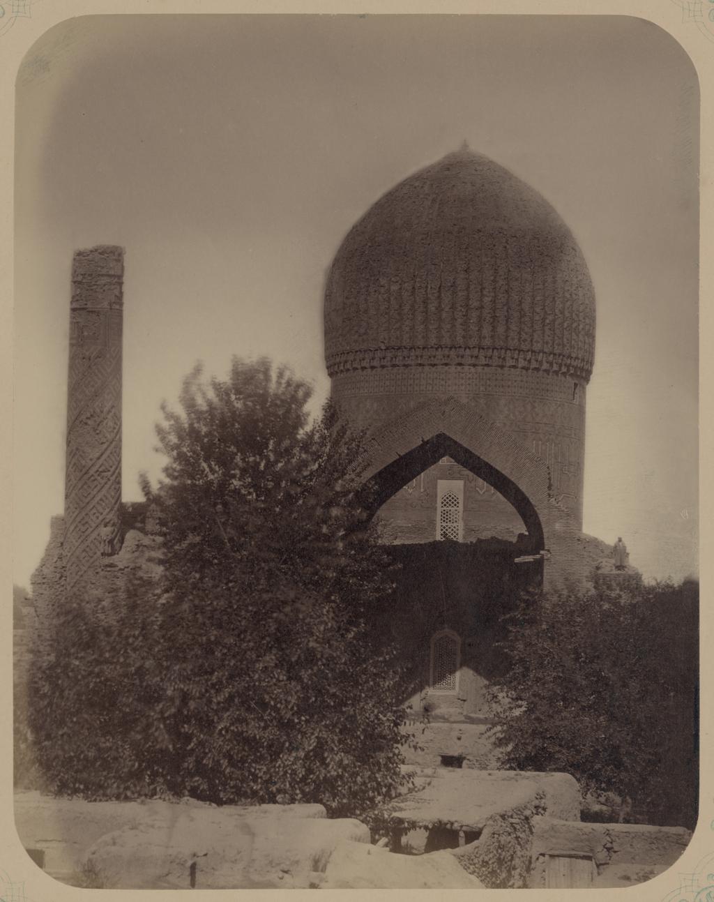 Мавзолей эмира Тимура Курагана. Вид западного фасада мавзолея