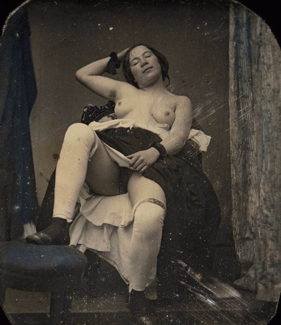 1850. С закрытыми глазами