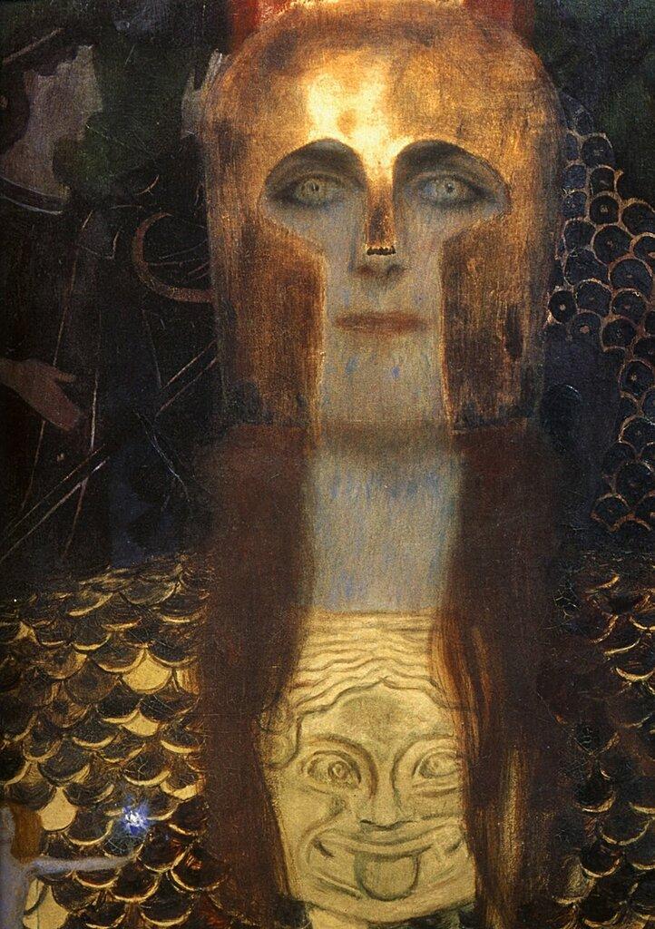 Gustav Klimt, a detail from Pallas Athene.jpg