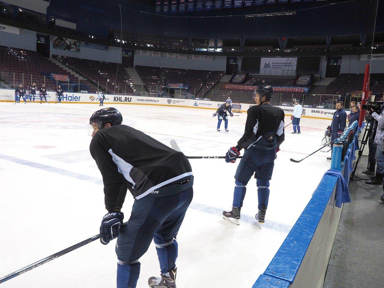 27 Открытая тренировка перед финалом плей-офф восточной конференции КХЛ 2017 22.03.2017