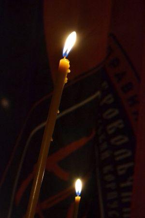 День Добровольцев - памяти павших в Киеве