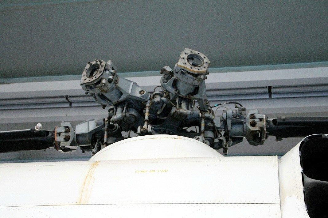 Музей авиации в Ле-Бурже. Вертолет Sud-Aviation SA.321 Super-Frelon