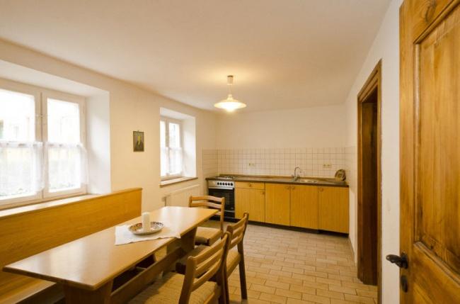 © fugger.de  Вванной комнате также есть все необходимое, включая стиральную машину инагреват
