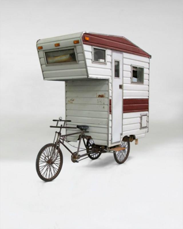 Многие любят бороздить на велосипеде дремучие леса и ночевать в палатках. Однако полноразмерные трей