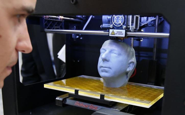 НаСтаврополье мед. персонал установили напечатанный на3D-принтере имплант вчереп человека