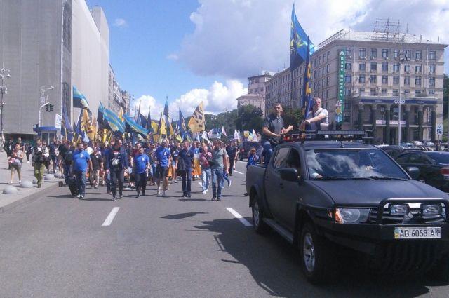 «Азов» идет вполитику: Билецкий анонсировал создание новоиспеченной партии
