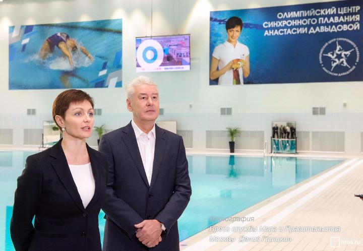 В столице закончилось строительство Олимпийского центра синхронного плавания