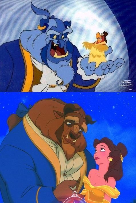 Некоторые превращения Джинна в мультфильме Алладин