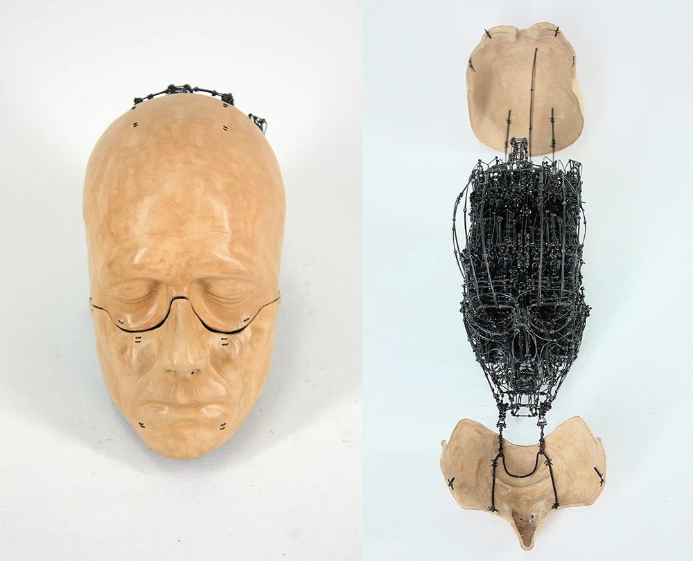 Anatomical Sculptures by Claude-Olivier Guay Transform to Reveal Intricate Wire Creatures