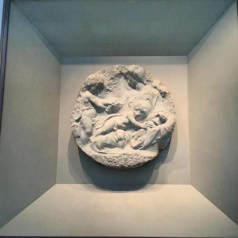Дэвид Хокни в Королевской академии художеств