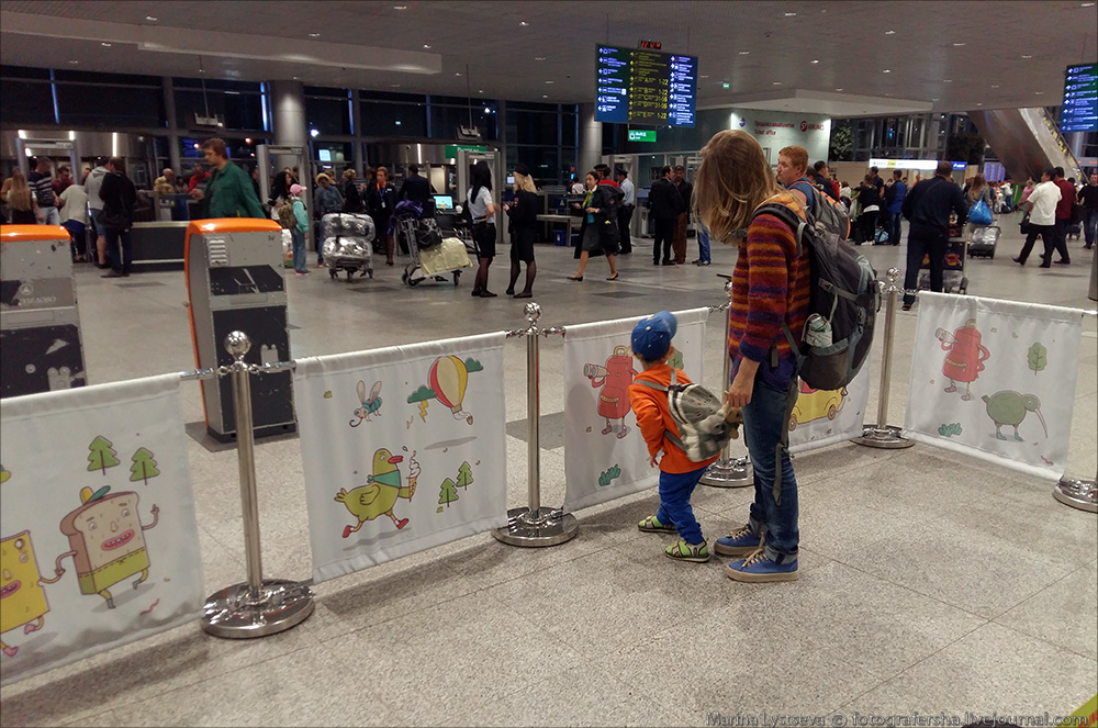 стойки s7 для пассажиров с детьми