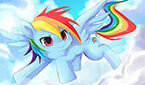Радуга Дэш Облака (Rainbow Dash Cloud)
