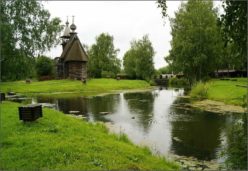 Церковь Всемилостивого Спаса 1712 г.