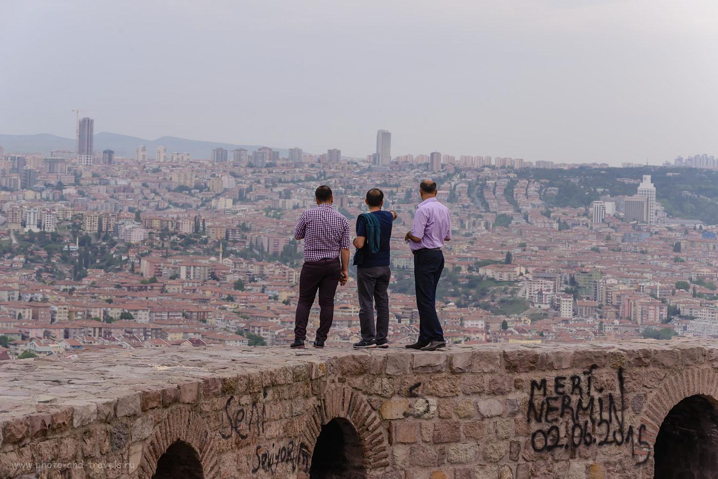 Фото 26. Крепость в Анкаре – одна из интересных достопримечательностей столицы Турции. 1/250, +0.33, 7.1, 500, 102.