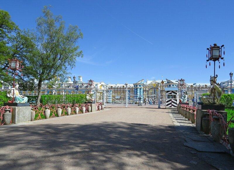 К Екатерининскому парку