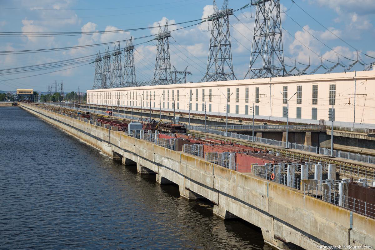 Монтаж рабочего колеса гидроагрегата №7 на Жигулёвской ГЭС 0_112363_7fc21f79_orig