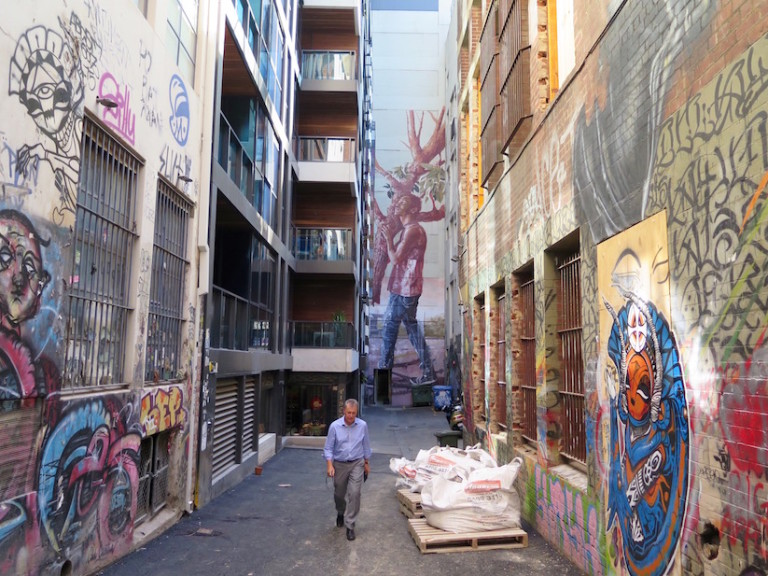 New Stunning Mural in Melbourne by Fintan Magee