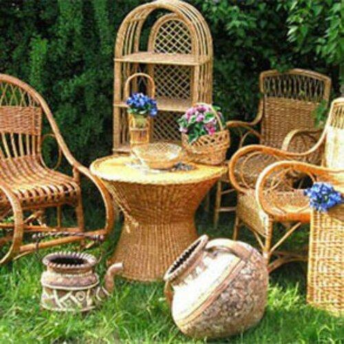 Плетеная мебель.Наполнит интерьер легкостью и воздушностью